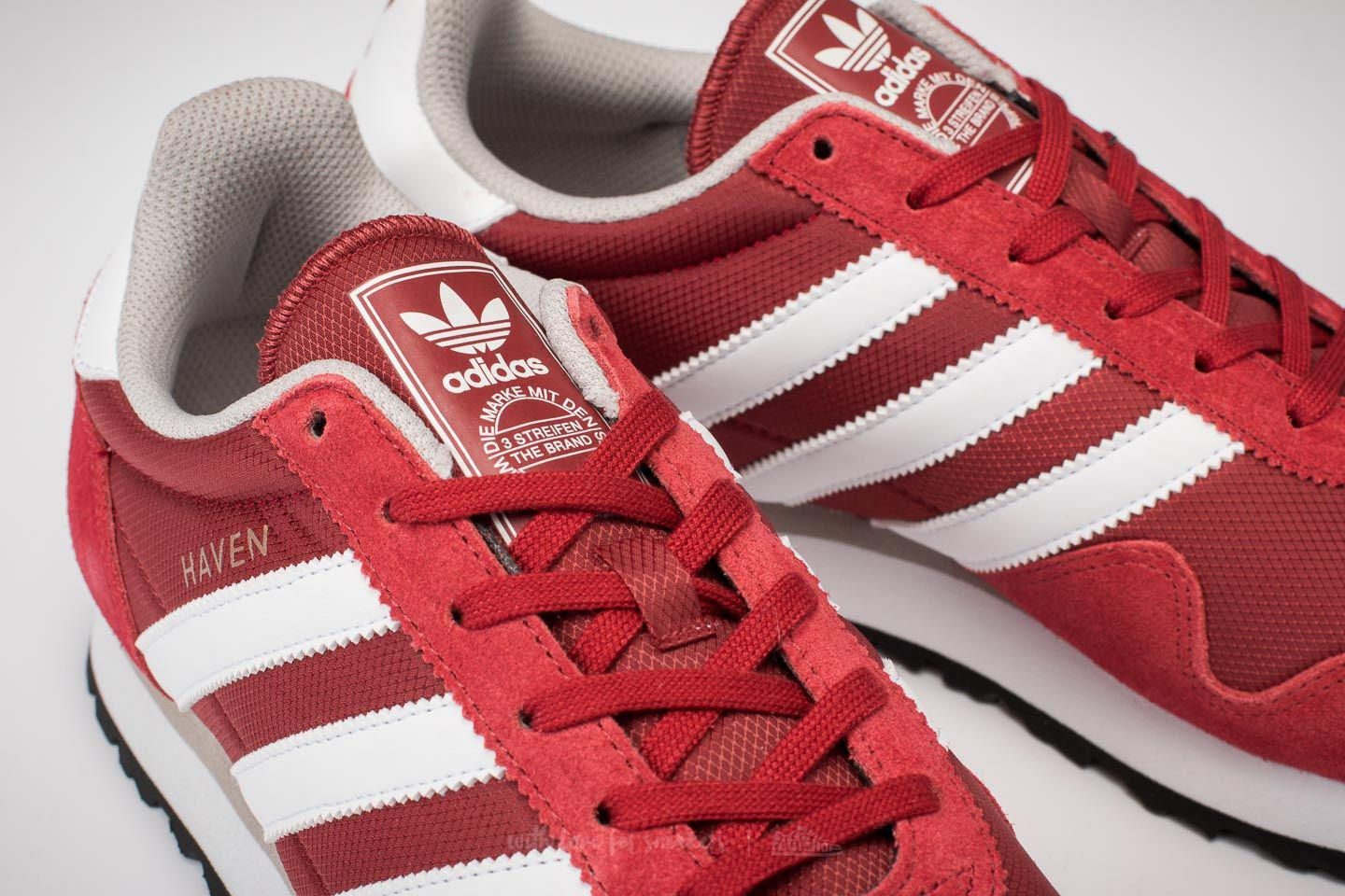Lyst - adidas Originals Adidas Haven Mystery Red  Ftw White  Clear ... 44279b9dc