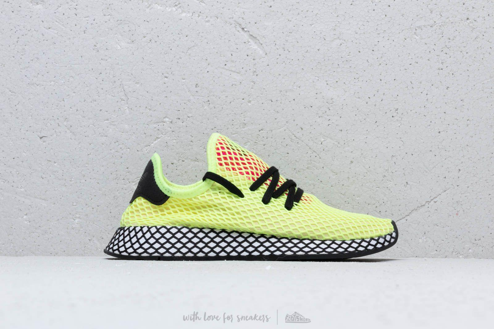 1f9d93eda Lyst - adidas Originals Adidas Deerupt Runner Hireye  Core Black ...