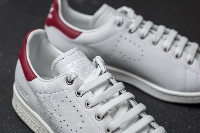 lyst footshop adidas x raf simons stan smith vintage white