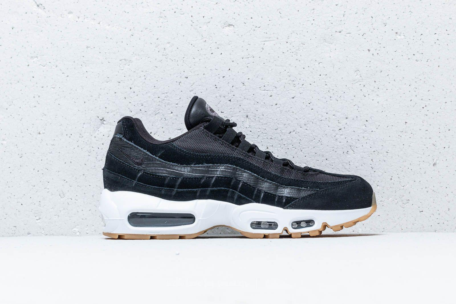 Nike - Air Max 95 Premium Black  Black-dark Grey-white for Men. View  fullscreen ad0e5e5bb8f0