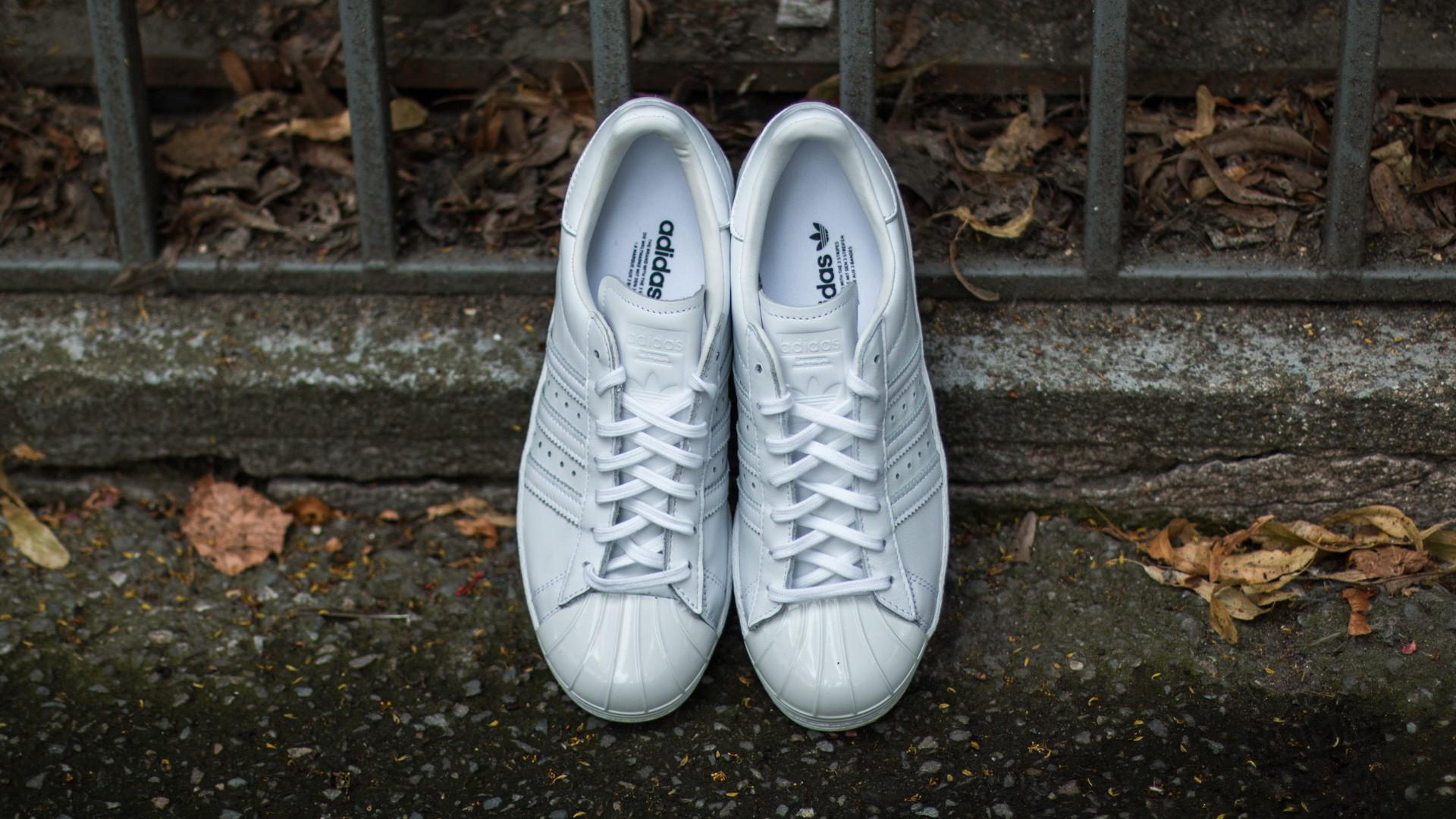 c8cc185b53eb Lyst - adidas Originals Adidas Superstar 80s Metal Toe W Ftw White ...