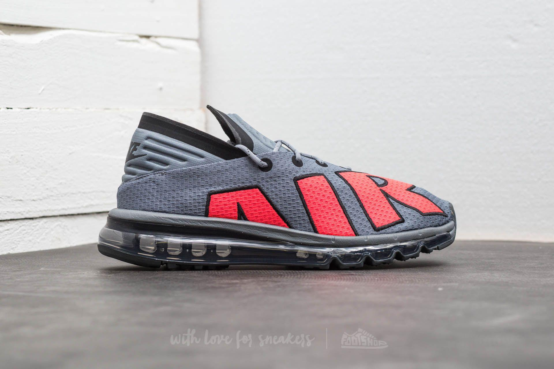 2d00f4a8c8 ... green shoes black dea85 0961e; coupon code for lyst nike air max flair  cool grey solar red black in gray for