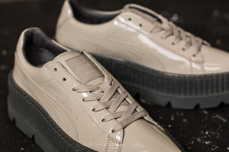 56a39eea19a144 Lyst - Footshop Puma Fenty X Rihanna Pointy Creeper Patent Wn s Dove ...