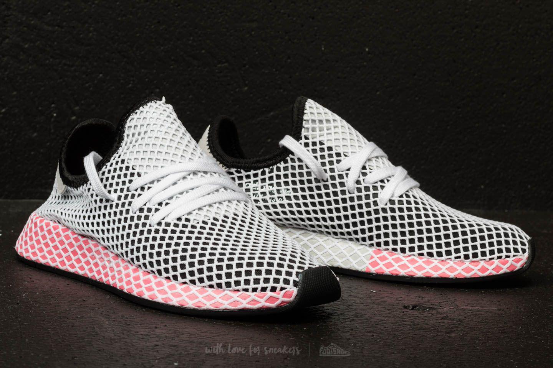 meet 35cf6 32225 Lyst - adidas Originals Adidas Deerupt Runner W Core Black C