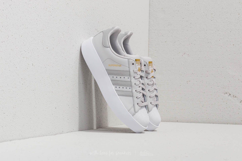 7022ec248065 Lyst - adidas Originals Adidas Superstar Bold W Grey One  Grey Two ...