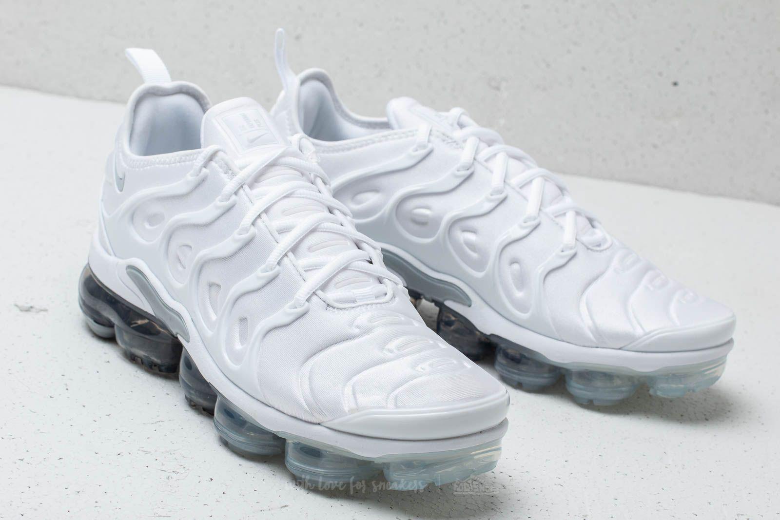 9e366cb3e Nike Air Vapormax Plus White/ Pure Platinum-wolf Grey for Men - Lyst