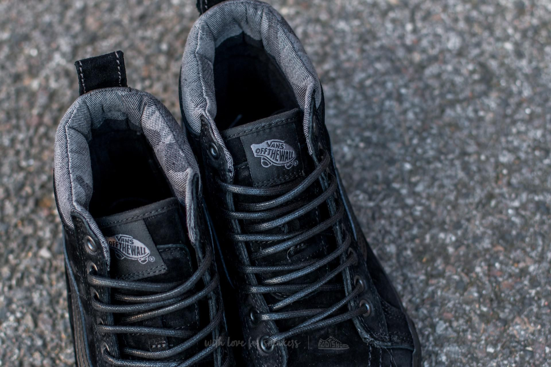 67c43c339d7e Lyst - Vans Sk8-hi Mte (mte) Black  Black  Camo in Black