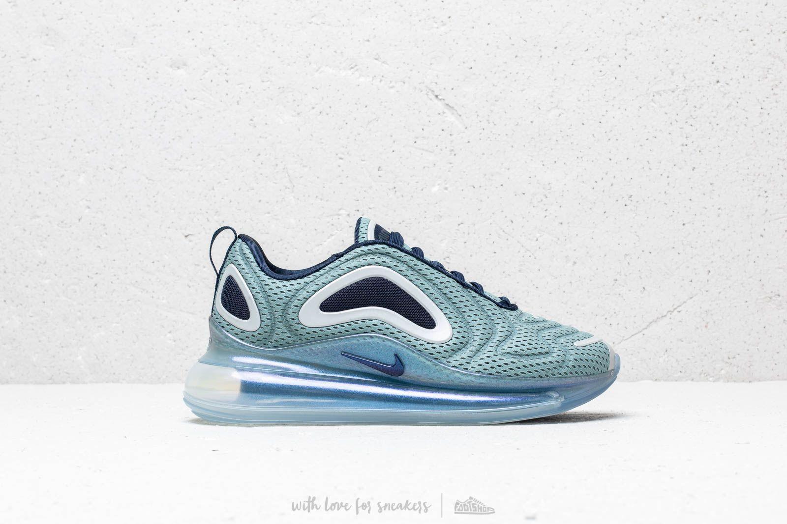Lyst - Nike W Air Max 720 Metallic Silver  Midnight Navy in Blue 4c1eb51df1
