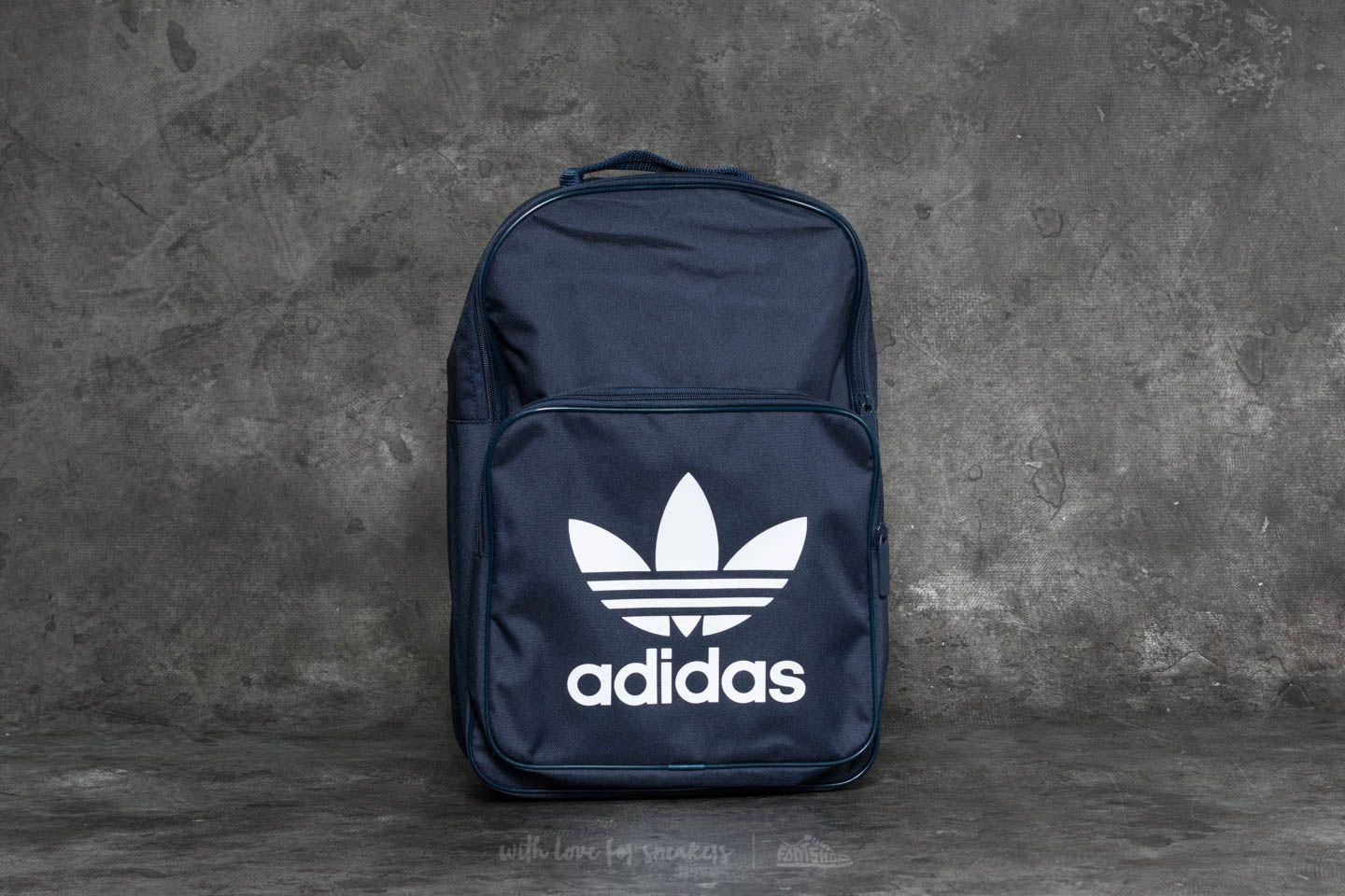 Adidas Originals - Blue Adidas Classic Trefoil Backpack Collegiate Navy for  Men - Lyst 6298981072a2b