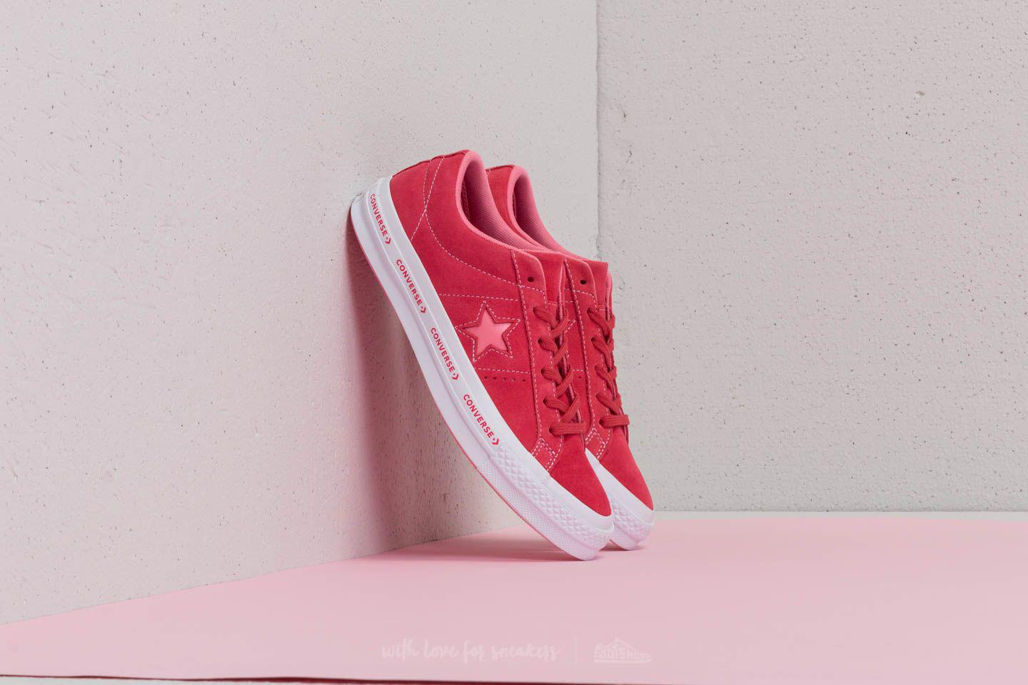 5e5e0dac634d Lyst - Converse One Star Ox Paradise Pink  Geranium Pink in Pink for Men
