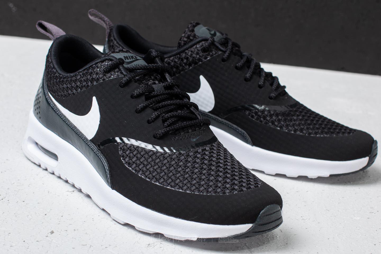 wholesale dealer 681a0 84ba5 Nike Wmns Air Max Thea Premium Black  White-anthracite in Black - Lyst