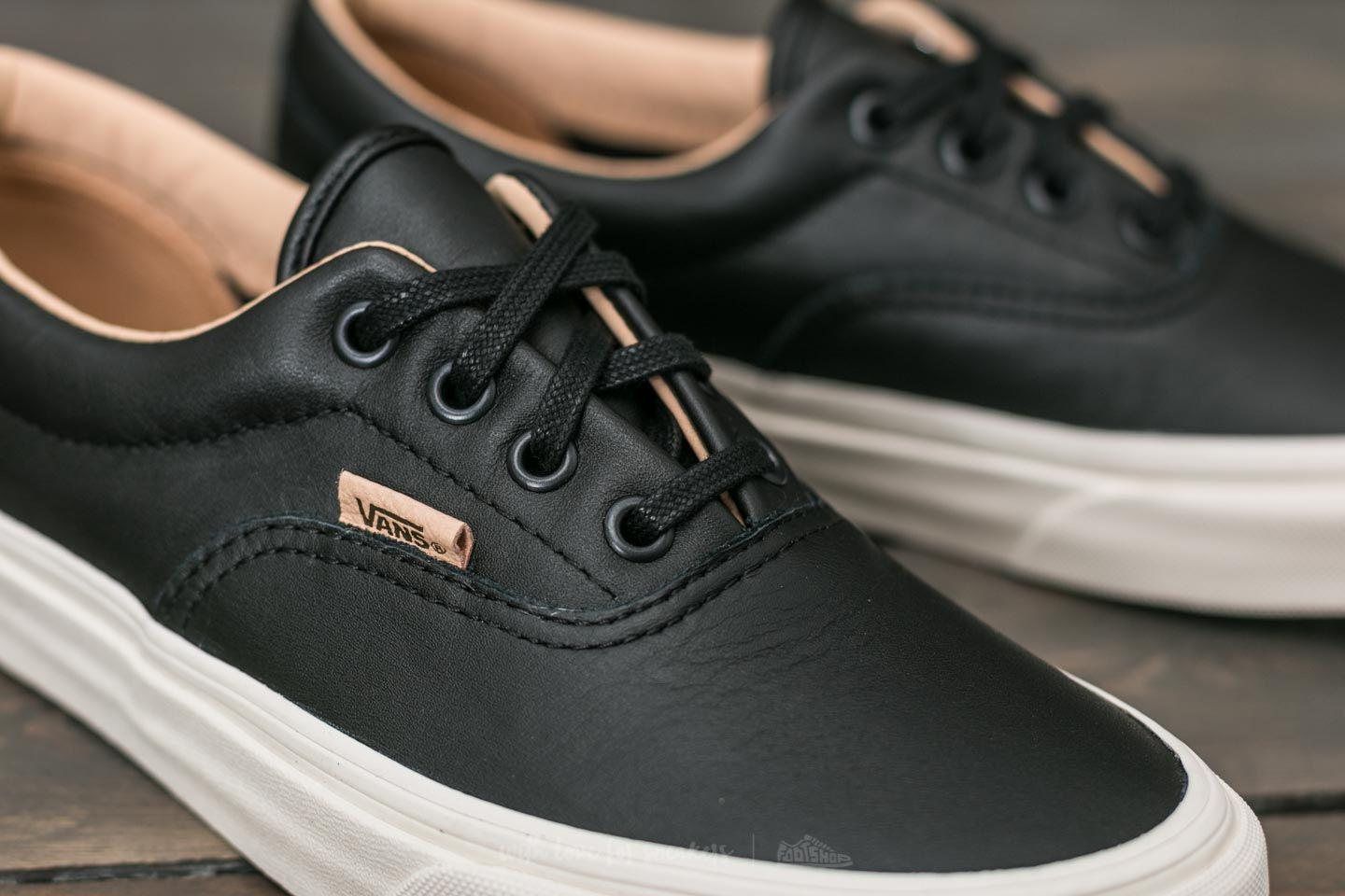 vans era leather