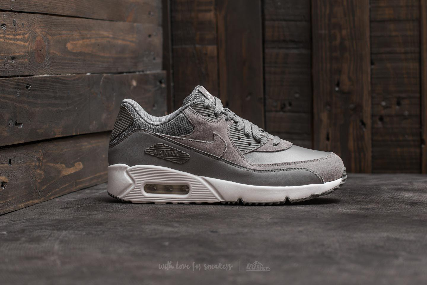 separation shoes b9d35 8571a Nike Air Max 90 Ultra 2.0 Leather Dust  Dust-summit White - Lyst