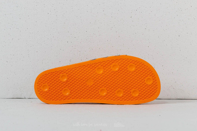 69ed9ecbcfcc52 Lyst - adidas Originals Adidas Adilette Real Gold  Core Black  Real ...
