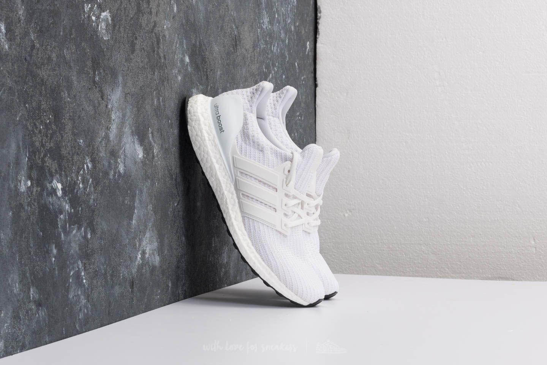 lyst footshop adidas ultraboost ftw bianco / ftw bianco / ftw bianco