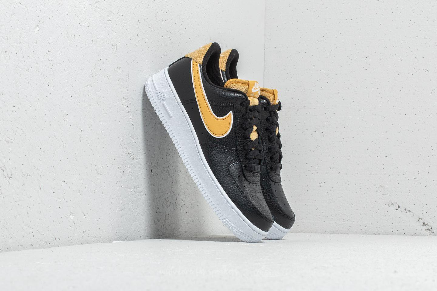 Lyst - Nike Wmns Air Force 1  07 Se Black  Wheat Gold ced51197b