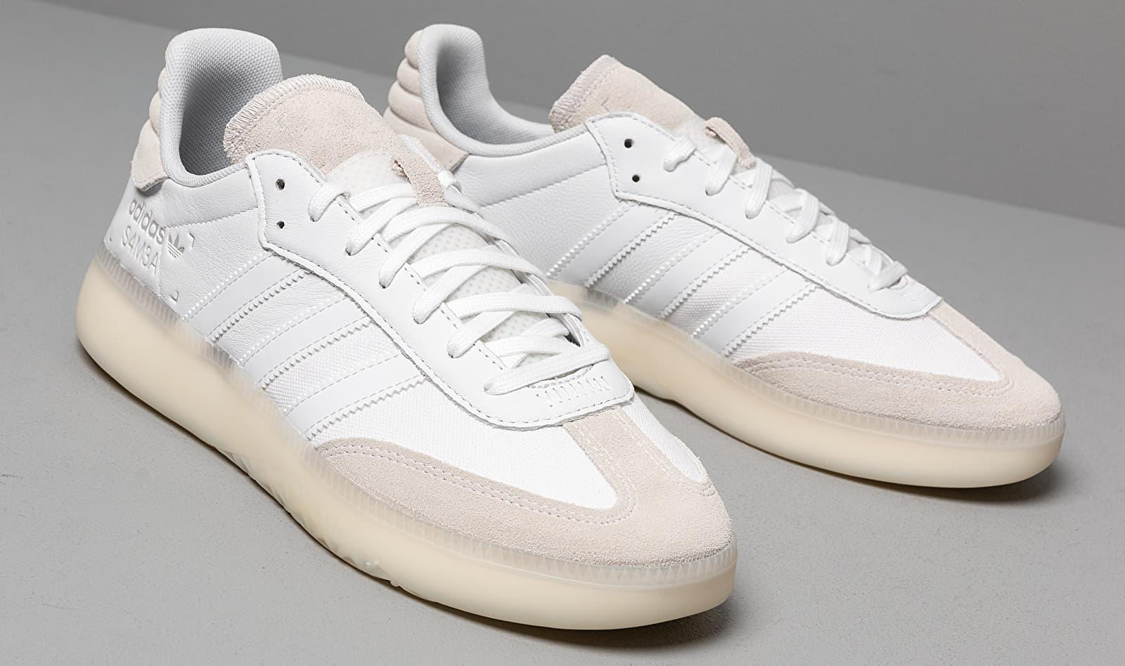 Adidas Samba Rm Ftw White/ Ftw White/ Grey Two