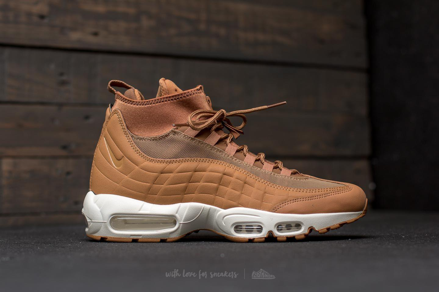 8cc841f633 Nike Air Max 95 Sneakerboot Flax/ Flax-ale Brown-sail in Brown for ...