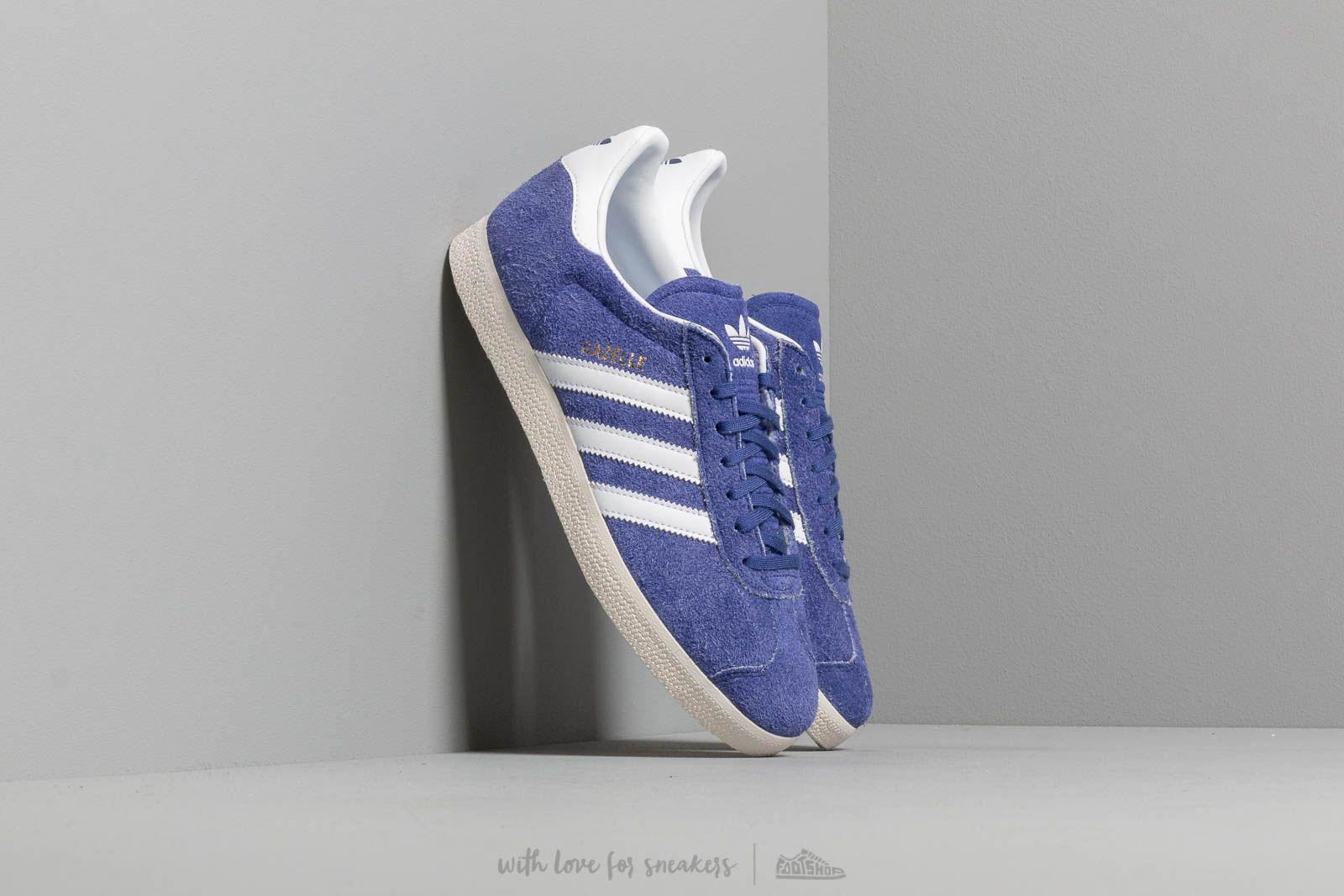 22beb849b adidas Originals. Men s Purple Adidas Gazelle Active Blue  Ftw White  ...