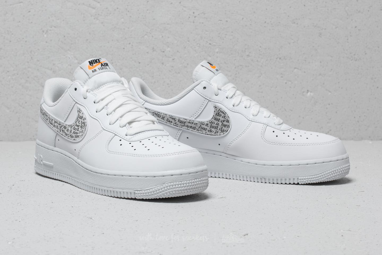c4ec0241d261 Lyst - Nike Air Force 1 ́07 Lv8 Jdi Lntc White  White-black-total ...