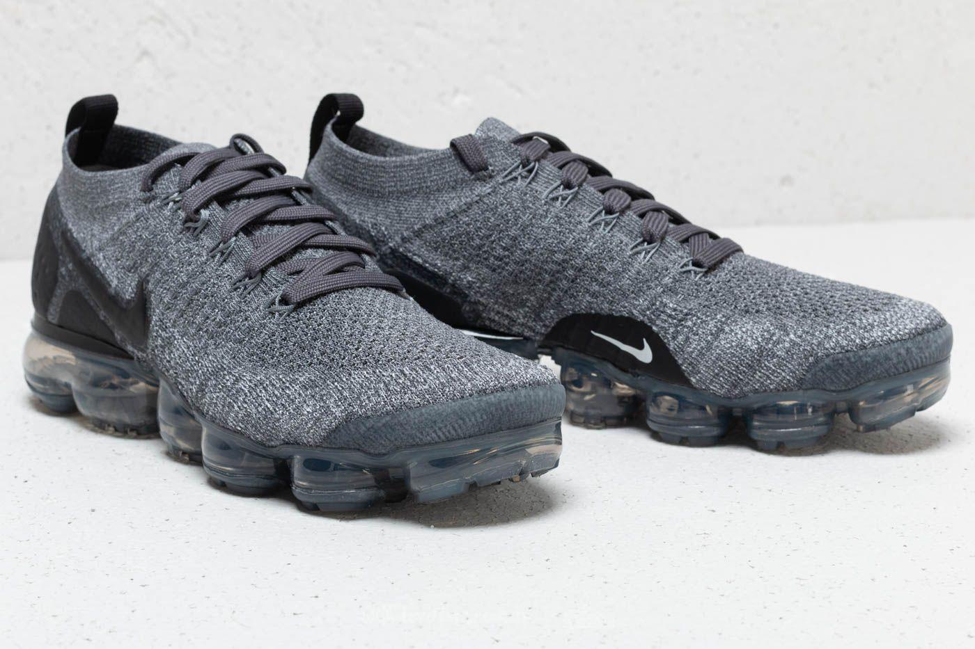 fa565f2e1cc Lyst - Nike Air Vapormax Flyknit 2 Dark Grey  Black-wolf Grey in ...