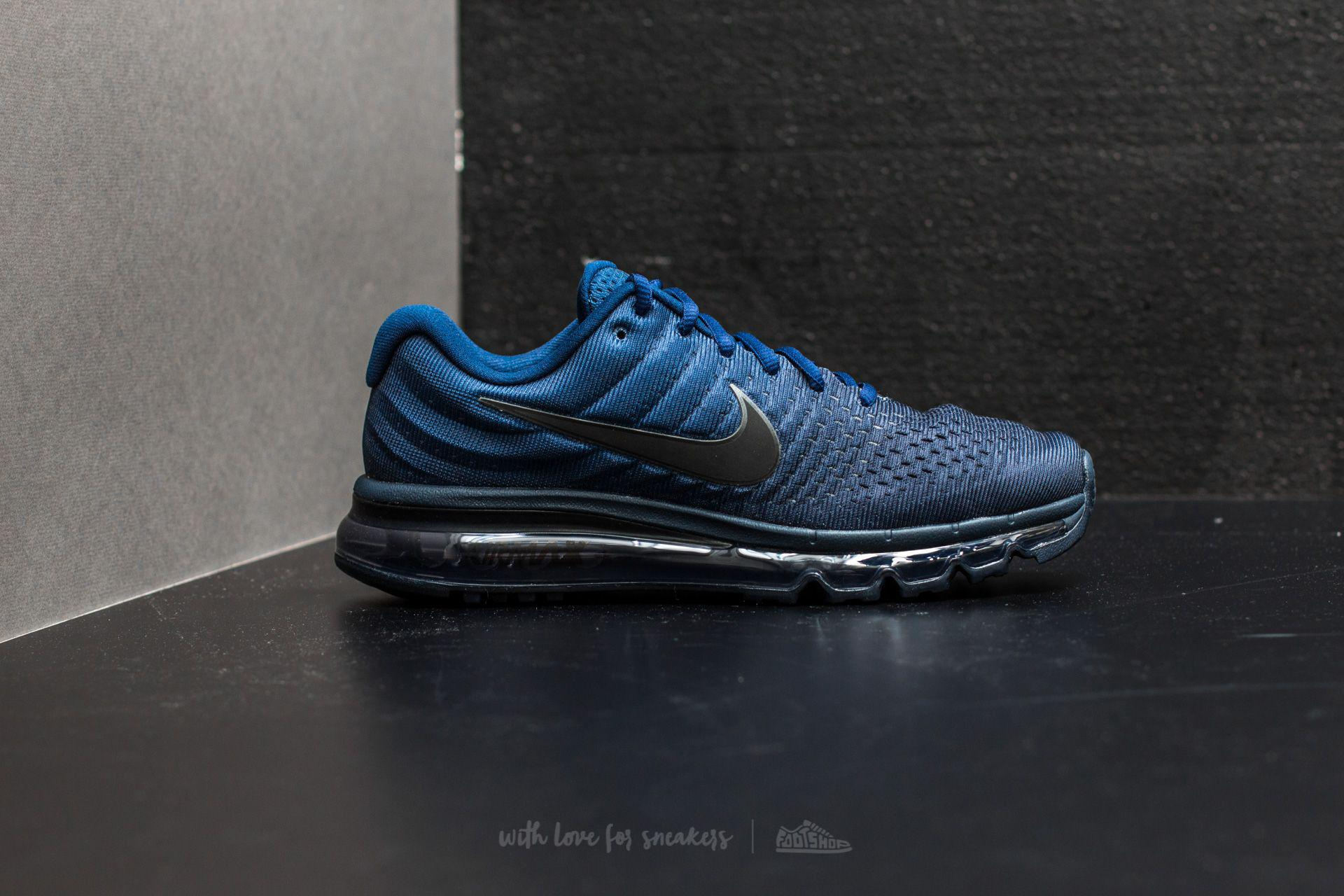 low priced 50cf8 e67ab ... purchase lyst nike air max 2017 binary blue black obsidian in blue for  men 98050 ed082