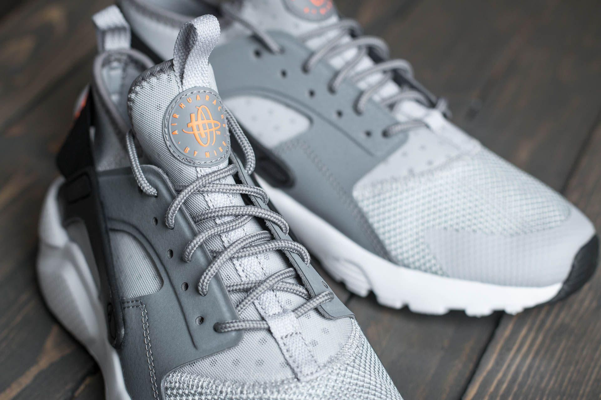 quality design 315de 246c0 ... ireland lyst nike air huarache run ultra gs wolf grey tart cool grey  059b6 bda42