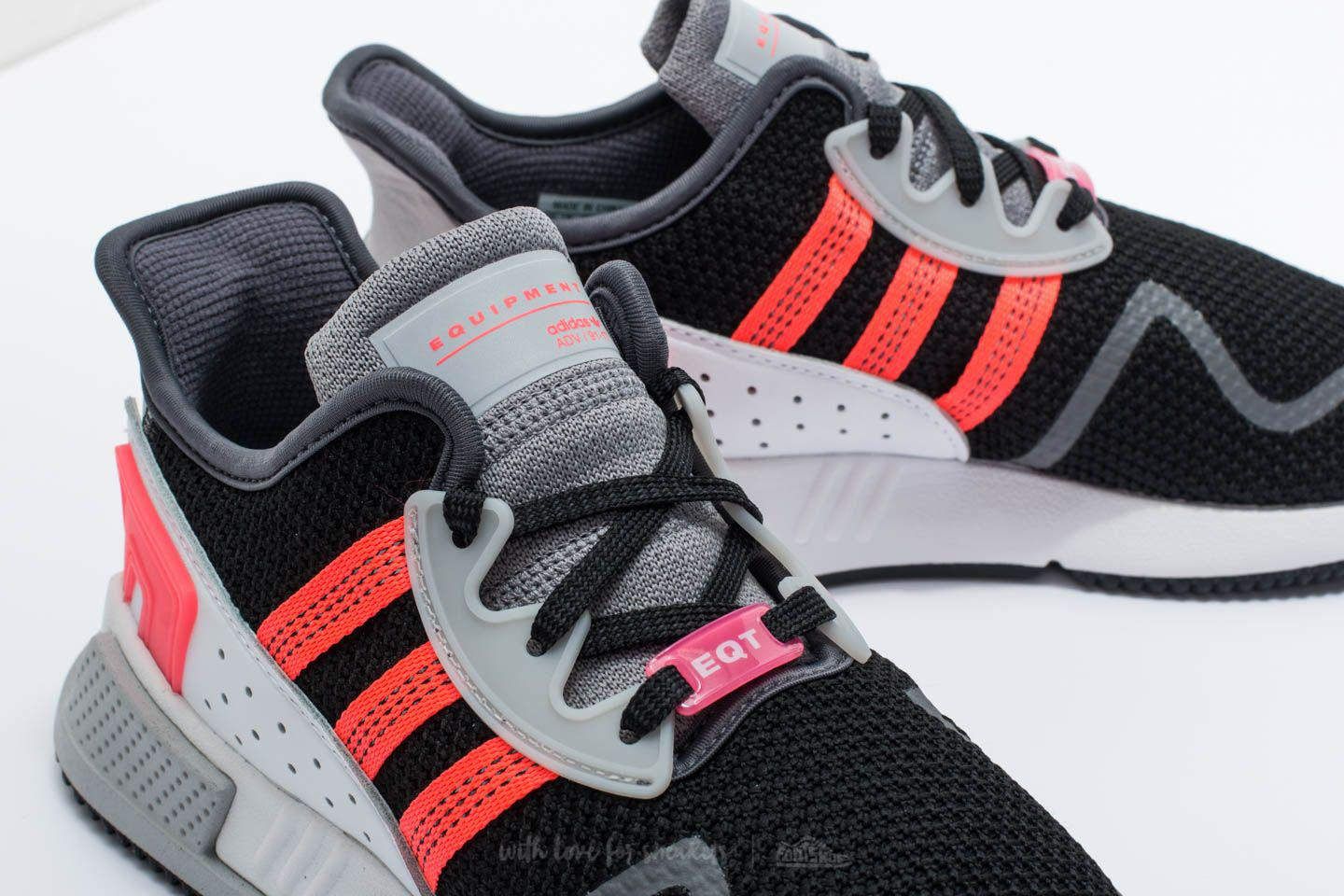timeless design 345d9 05812 Lyst - adidas Originals Adidas Eqt Cushion Adv Core Black Su