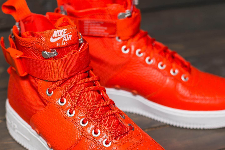 9a96ebb7ac3 Lyst - Nike Sf Air Force 1 Mid Team Orange  Team Orange for Men