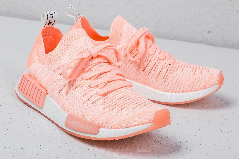 44e85ba725c2f Lyst - adidas Originals Adidas Nmd r1 Stlt Primeknit W Clear Orange ...