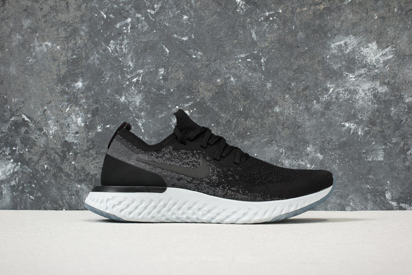 db98a9f4f407 ... cheapest nike epic react flyknit black black dark grey for men lyst.  view fullscreen 8326b