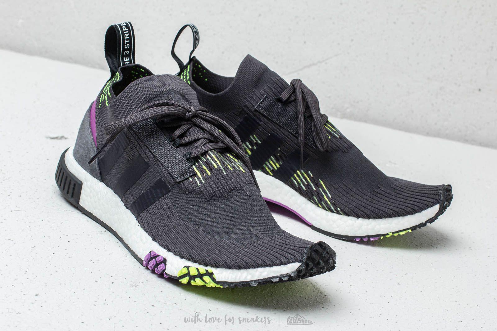 915f05a58 Lyst - adidas Originals Adidas Nmd Racer Primeknit Carbon  Core ...