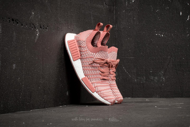 buy popular ef921 a2fd5 Lyst - adidas Originals Adidas Nmd r1 Stlt Primeknit W Ash Pink ...