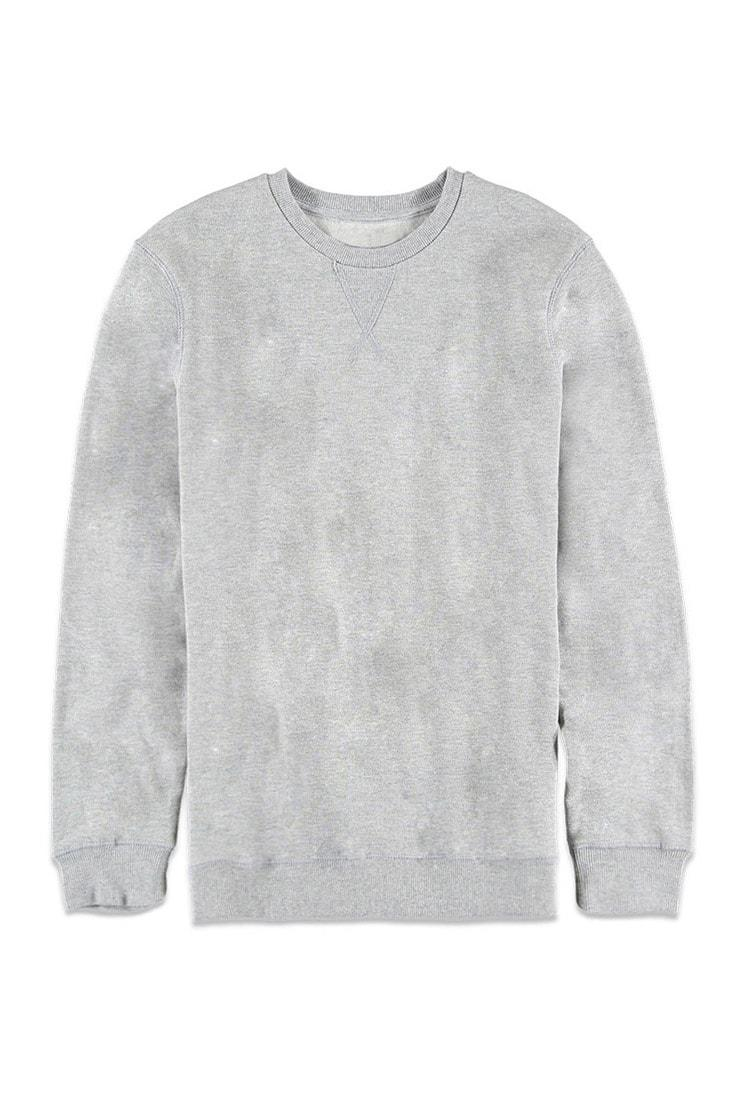fcafa834a Lyst - Forever 21 Classic Crew Neck Sweatshirt in Gray for Men