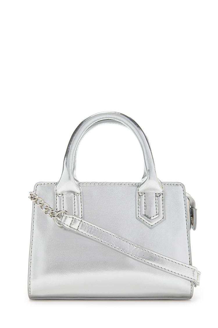 Lyst Forever 21 Mini Crossbody Bag In Metallic