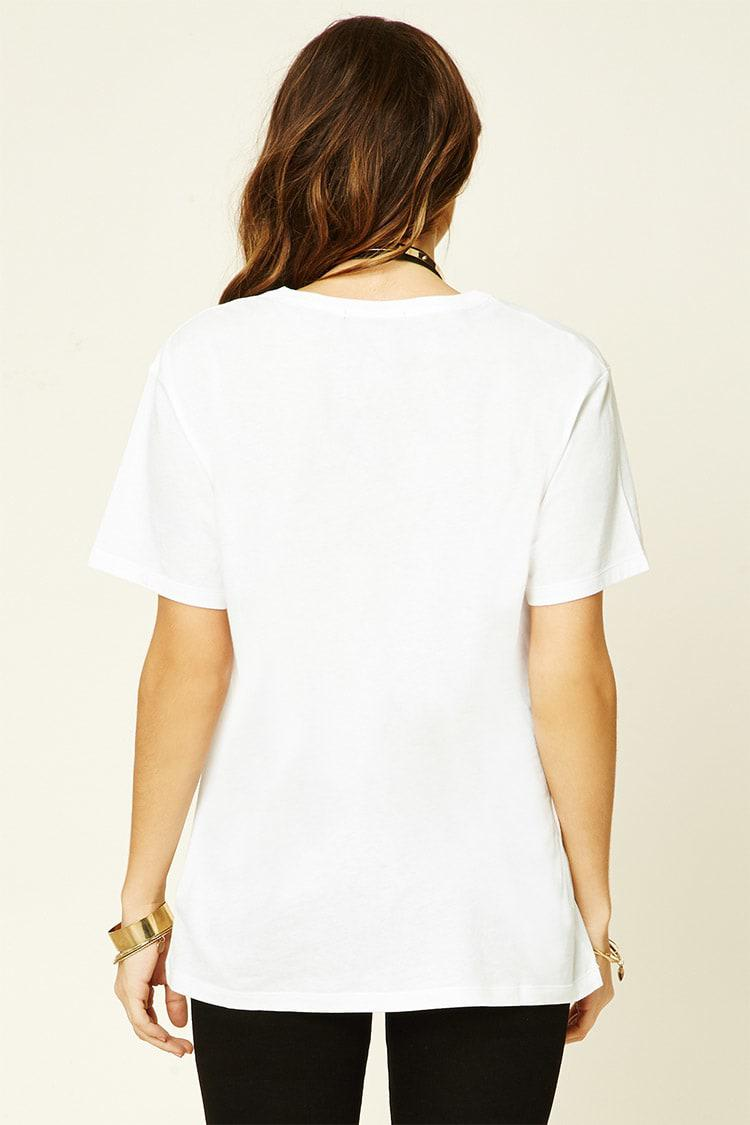 3ee97a4c8 Forever 21 Madonna Graphic Tour Tee - Lyst
