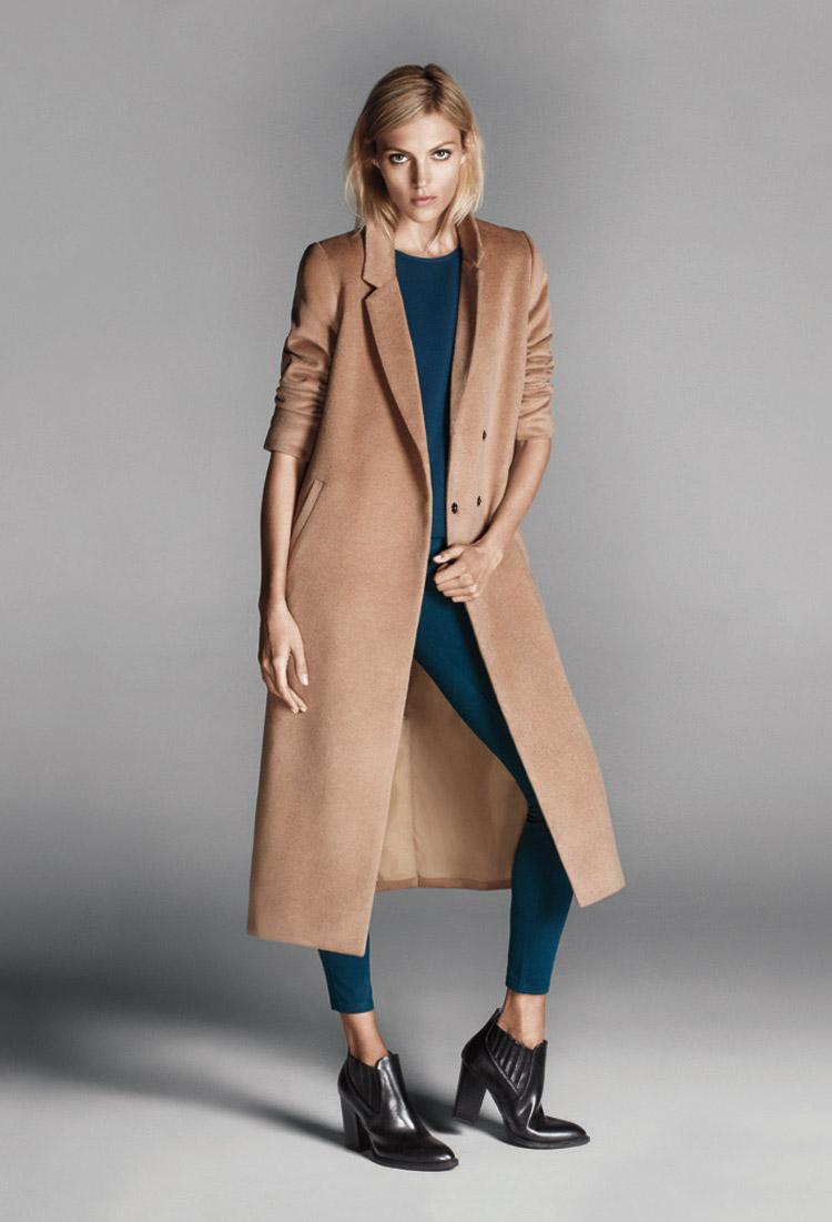 Lyst Forever 21 Longline Duster Coat In Natural