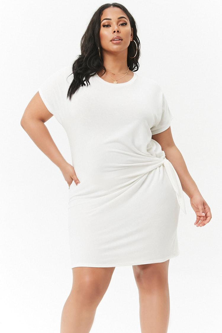 forever 21 plus size t shirt dress