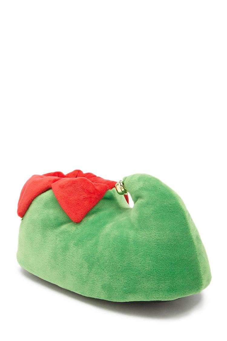 3f75b5f4556 Lyst - Forever 21 Plush Elf Slippers in Green