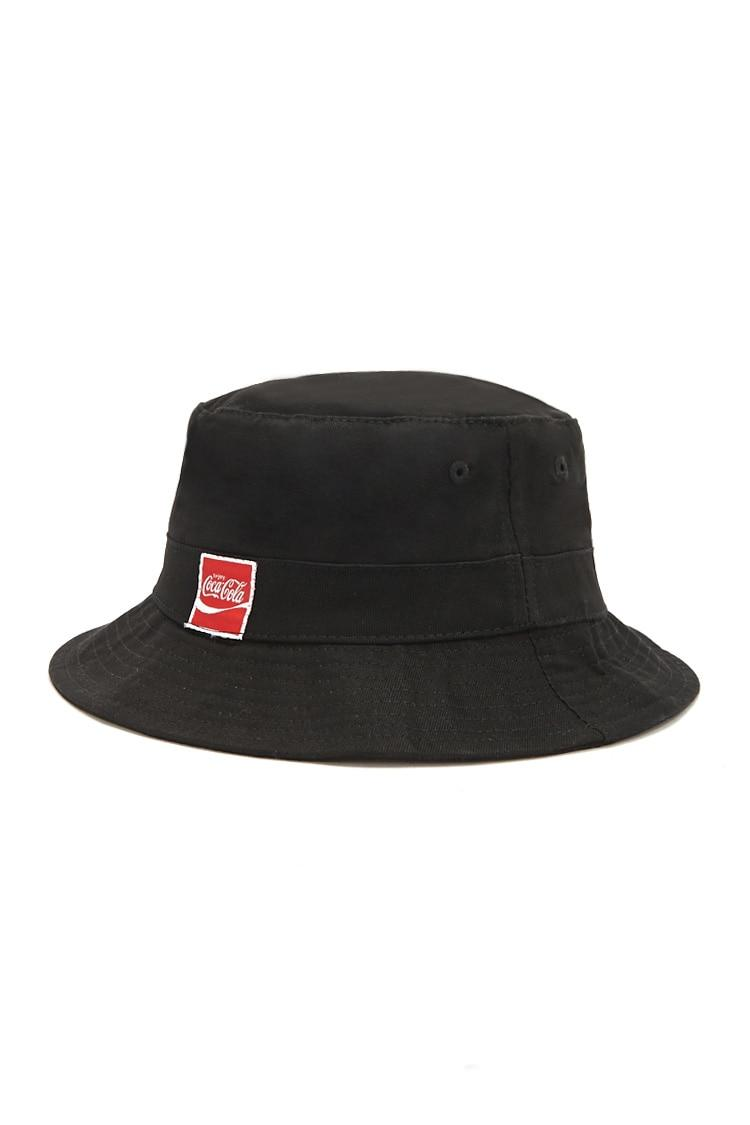 d5d17f4f631be Forever 21 Coca-cola Bucket Hat in Black - Lyst