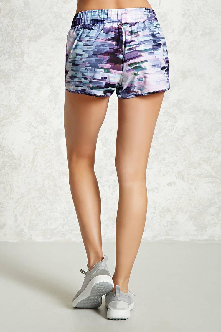 ... Active Abstract Print Shorts - Lyst. View Fullscreen