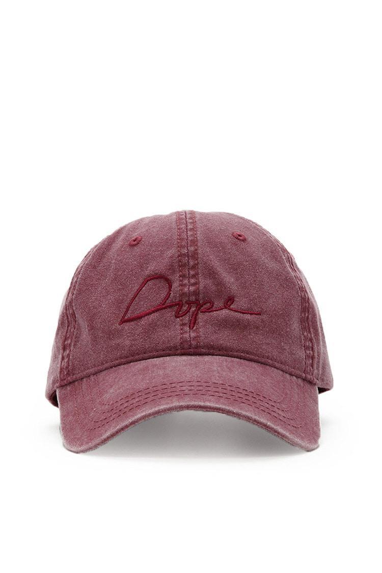 buy online aa609 1a00c Forever 21 Dope Tonal Script Baseball Cap in Purple for Men - Lyst
