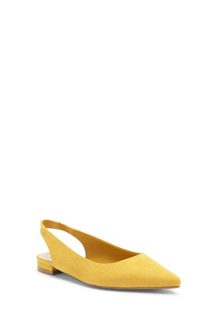 40676e51d3899 Lyst - Forever 21 Women's Faux Suede Flats