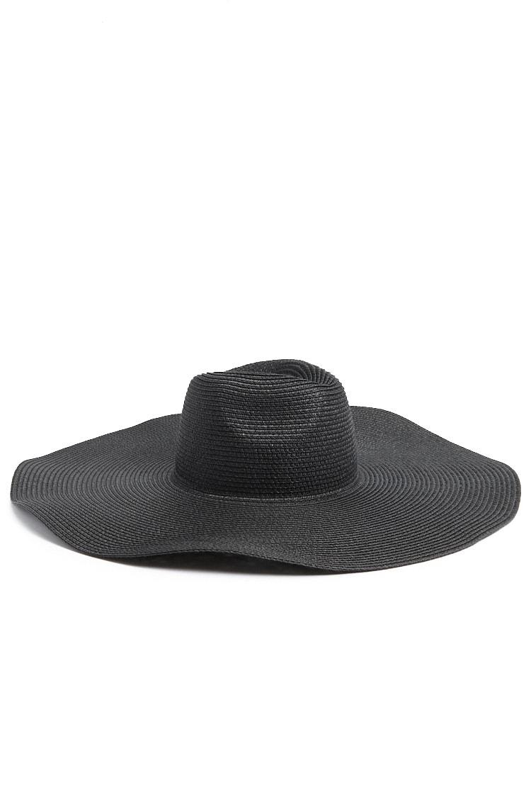 52a4c6f5c0c Lyst - Forever 21 Straw Sun Hat in Black