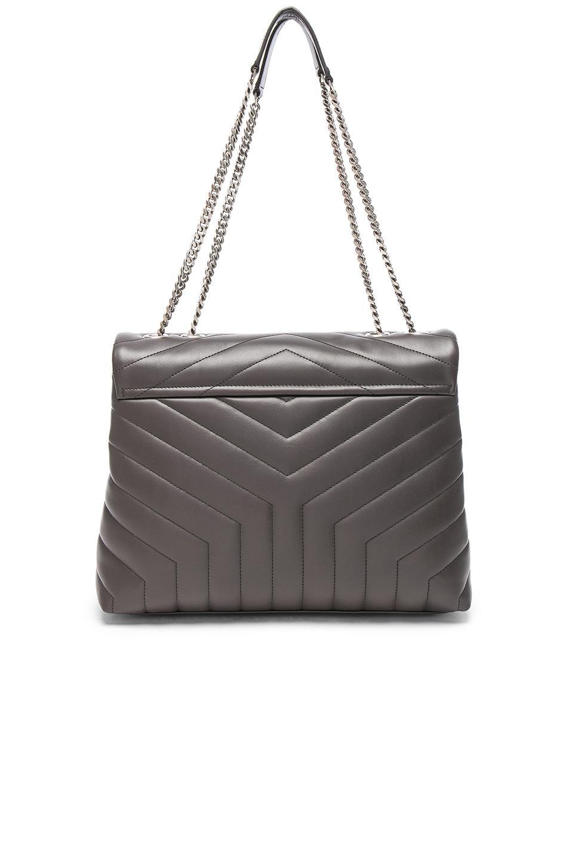 b1c924f418fb Saint Laurent - Black Medium Supple Monogramme Loulou Chain Bag - Lyst.  View fullscreen
