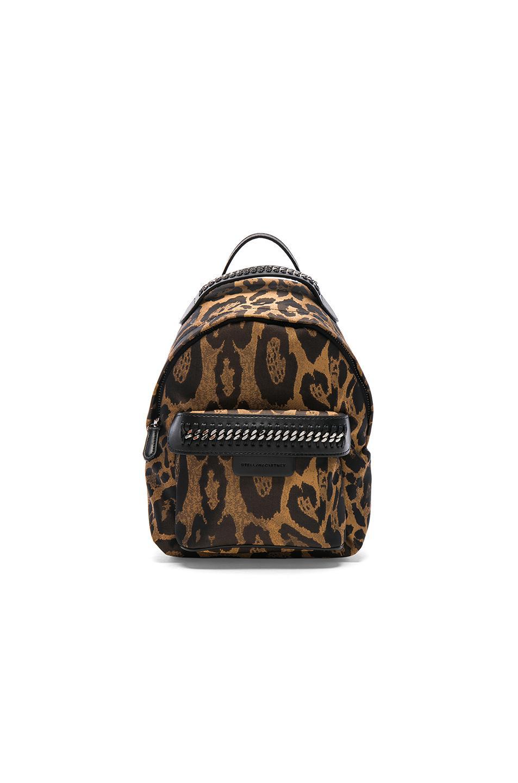bf8b2ccce406 Stella McCartney Falabella Go Alter Leopard Print Mini Backpack in ...
