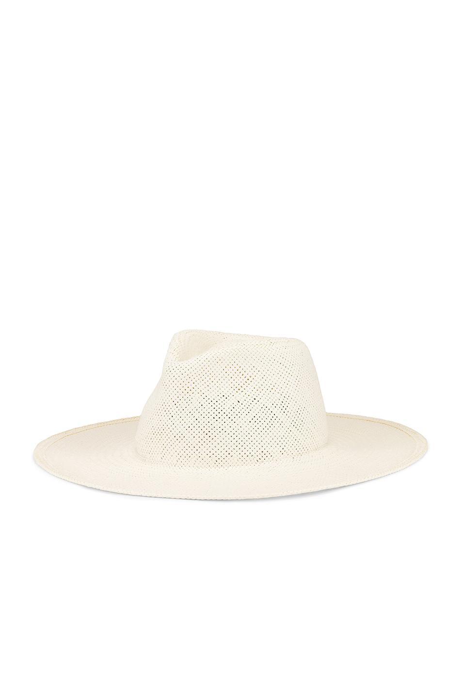 b82d11f1672 Janessa Leone - White Cezanne Packable Hat - Lyst. View fullscreen