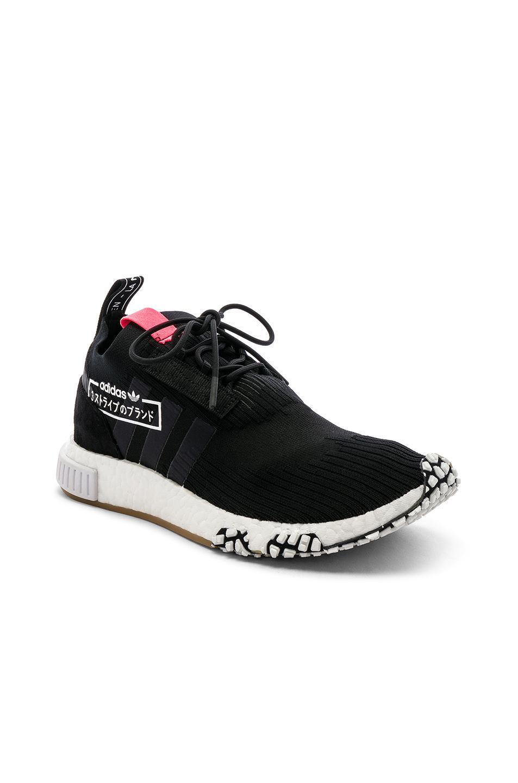 low priced 9efc7 4a0e4 adidas Originals. Mens Black Nmd Racer Pk