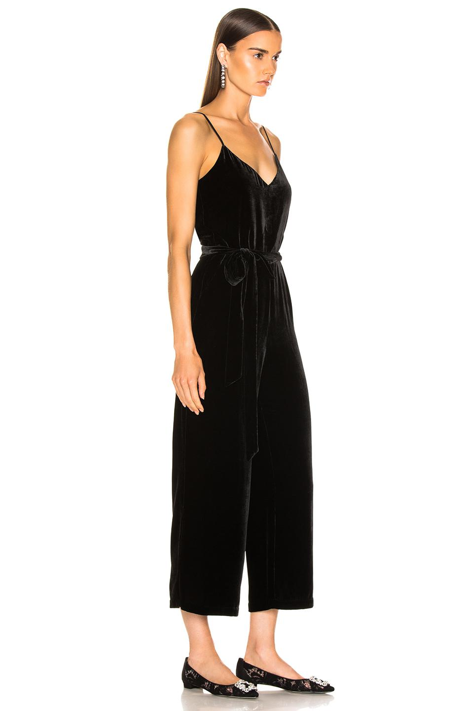 3979a6df8df L Agence Jaelyn Camisole Jumpsuit in Black - Save 20.599250936329582 ...