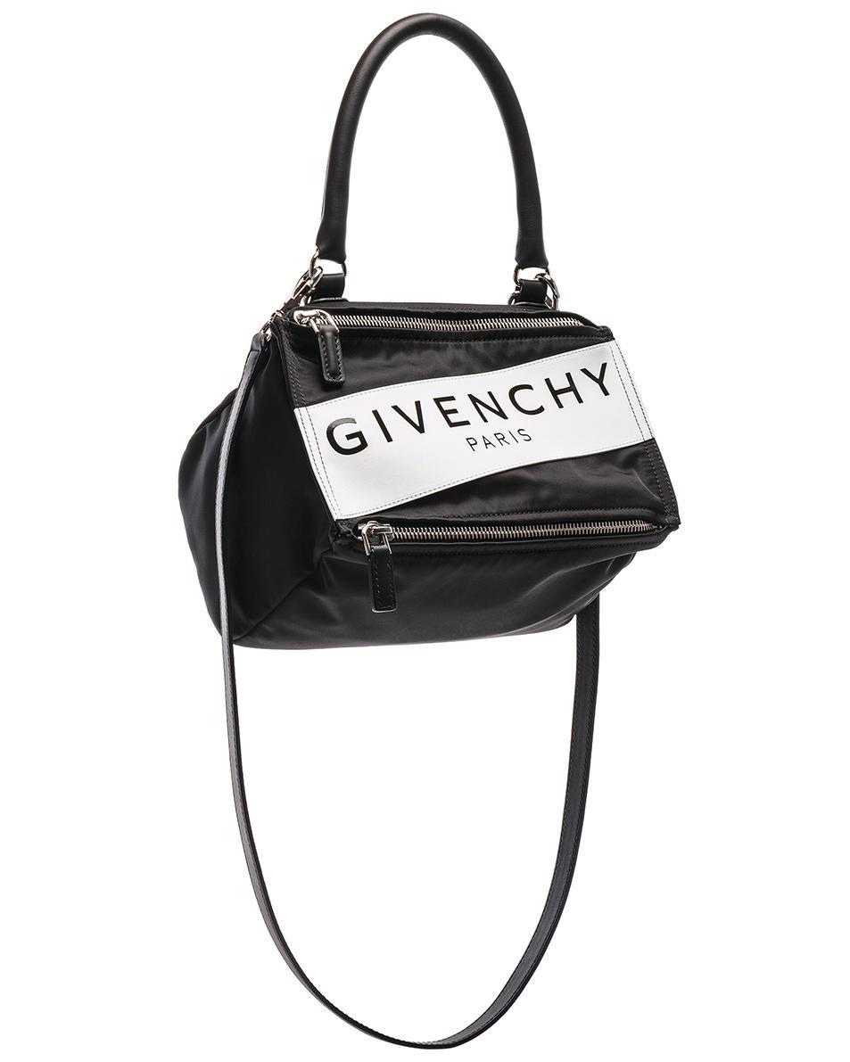 fda858cb82 Givenchy - Black Paris Nylon Small Pandora Bag - Lyst. View fullscreen